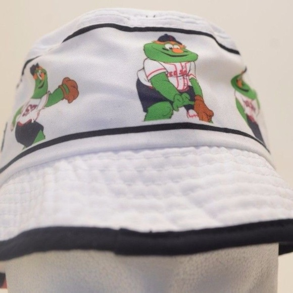 Kids MLB Boston Red Sox Bucket Hat Wally New Era 9d9220720f25